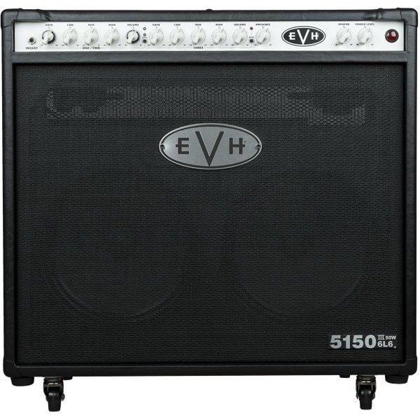 EVH EVH 5150III 2x12 50W 6L6 Combo, Black, 110V TW