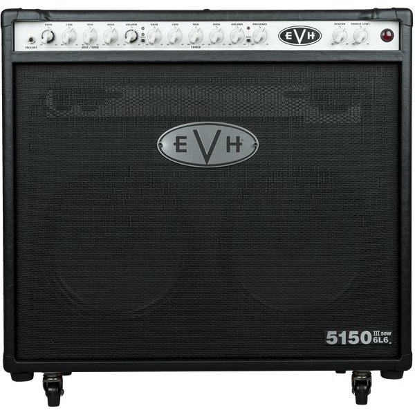 EVH EVH 5150III 2x12 50W 6L6 Combo, Black, 240V AUS