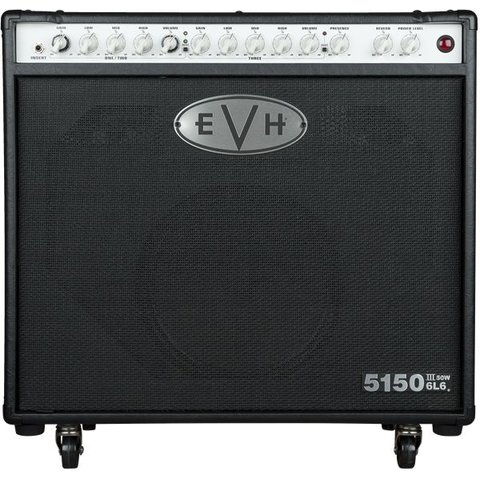 EVH 5150III 1x12 50W 6L6 Combo, Black, 220V ARG