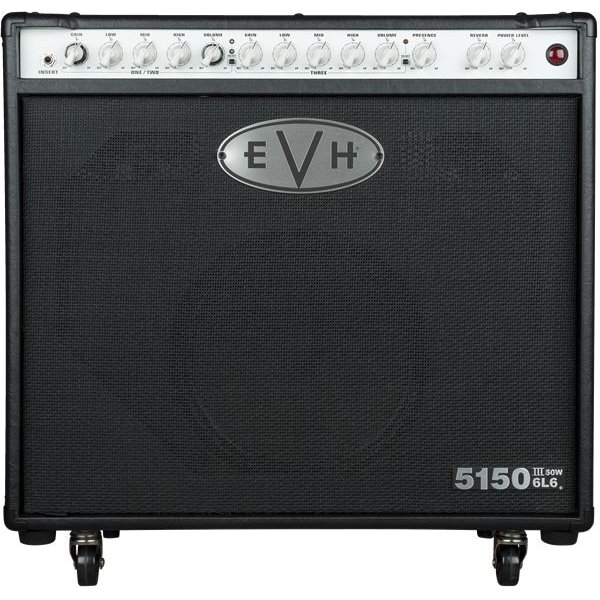 EVH EVH 5150III 1x12 50W 6L6 Combo, Black, 220V ARG