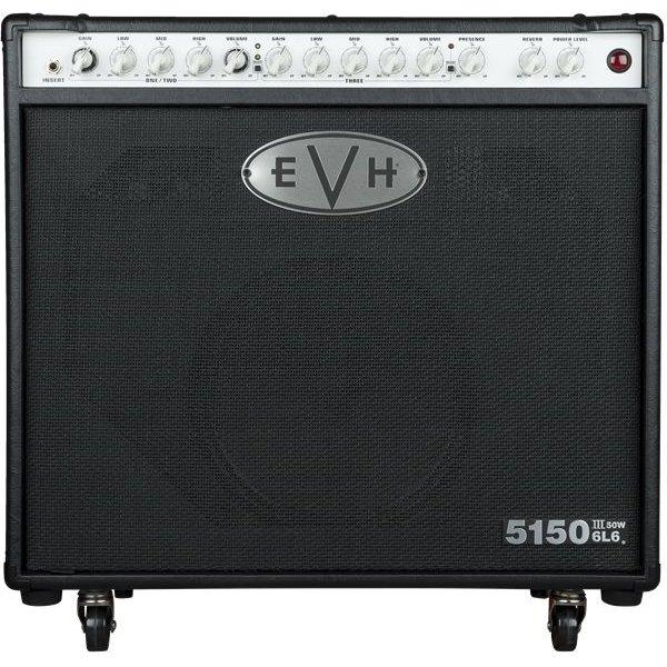 EVH EVH 5150III 1x12 50W 6L6 Combo, Black, 220V ROK