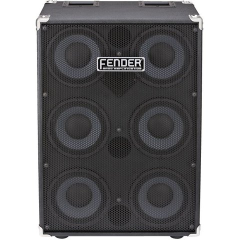 Fender 610 Pro Speaker Cabinet, Cast Frame Speakers, Horn w/ Attenuator
