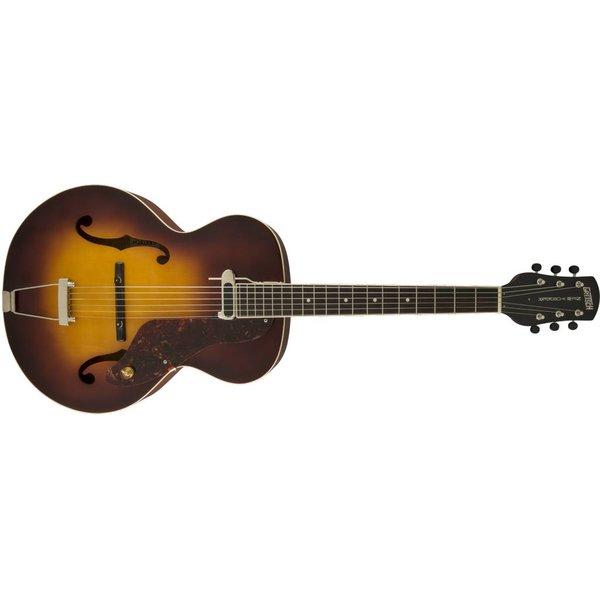 Gretsch Guitars Gretsch G9555 New Yorker Archtop Guitar with Pickup, Semi-gloss, Vintage Sunburst
