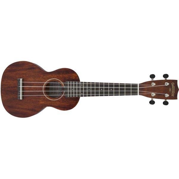 Gretsch Guitars Gretsch G9100 Soprano Standard Ukulele with Gig Bag, Ovangkol Fingerboard, Vintage Mahogany Stain