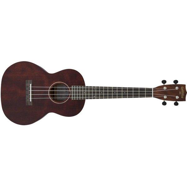 Gretsch Guitars Gretsch G9120 Tenor Standard Ukulele with Gig Bag, Ovangkol Fingerboard, Vintage Mahogany Stain