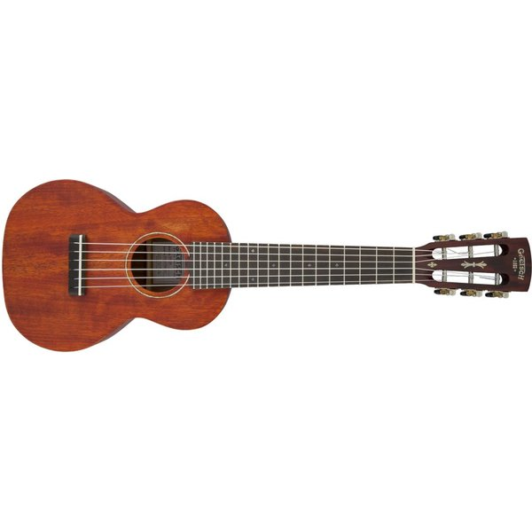 Gretsch Guitars Gretsch G9126 Guitar-Ukulele with Gig Bag, Ovangkol Fingerboard, Honey Mahogany Stain