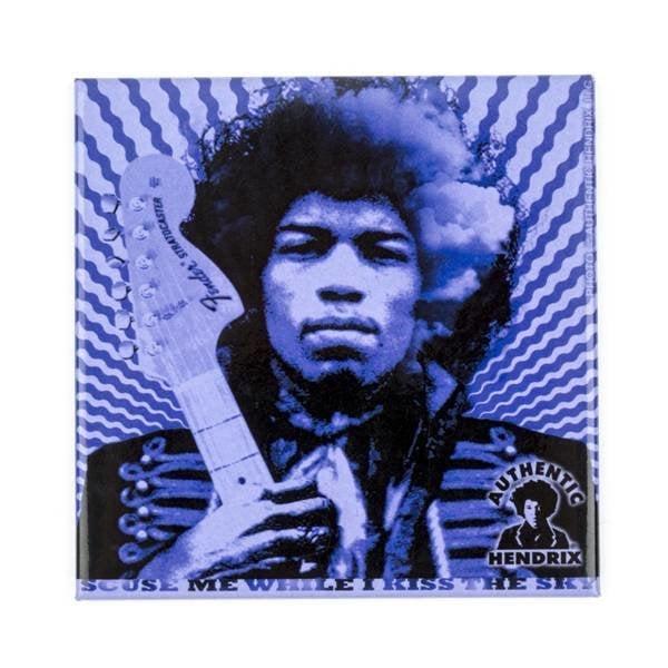 "Fender Fender Jimi Hendrix Collection""Kiss the Sky"" Magnet"