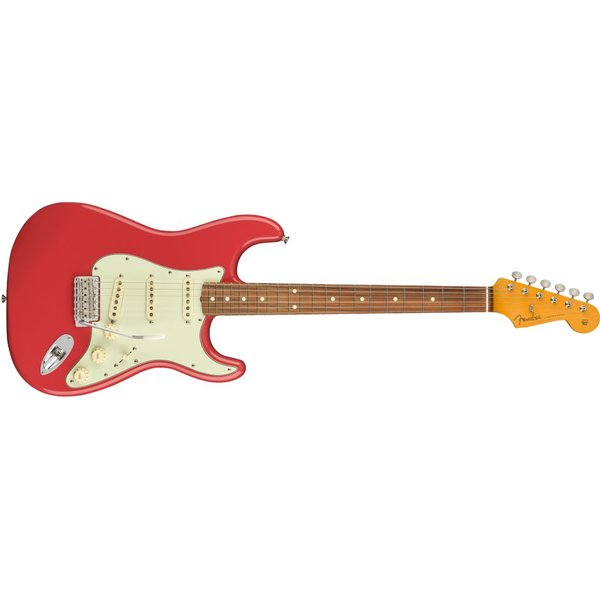 Fender Fender Classic Series '60s Stratocaster Lacquer, Pau Ferro Fingerboard, Fiesta Red