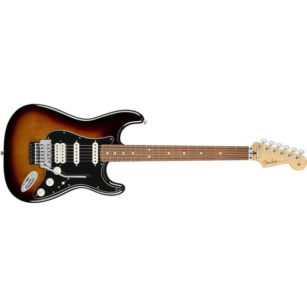Fender Fender Player Stratocaster with Floyd Rose, Pau Ferro Fingerboard, 3-Color Sunburst