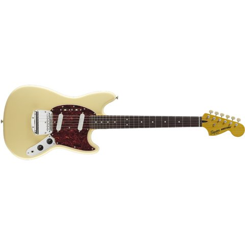 Fender Vintage Modified Mustang, Laurel Fingerboard, Vintage White