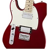 Fender Contemporary Telecaster HH Left-Handed, Maple Fingerboard, Dark Metallic Red