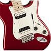 Fender Contemporary Stratocaster HH, Maple Fingerboard, Dark Metallic Red