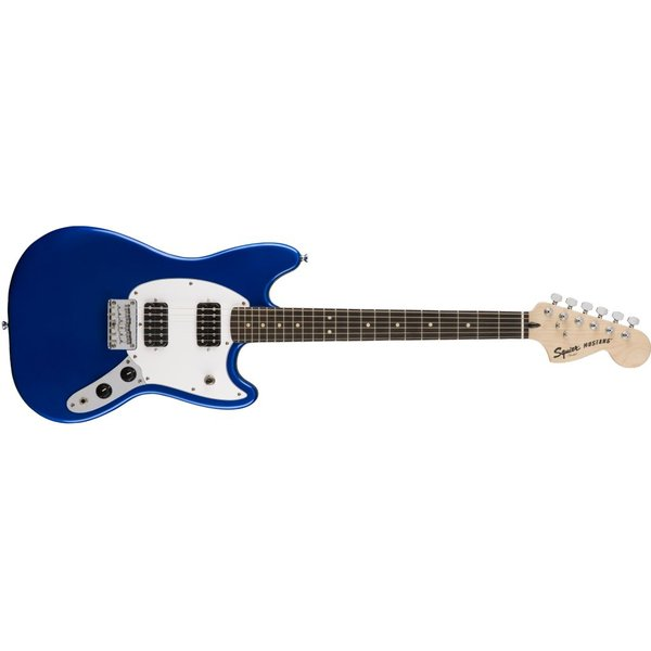 Squier Fender Bullet Mustang HH, Laurel Fingerboard, Imperial Blue
