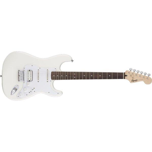 Squier Fender Bullet Stratocaster HSS Hard Tail, Laurel Fingerboard, Arctic White