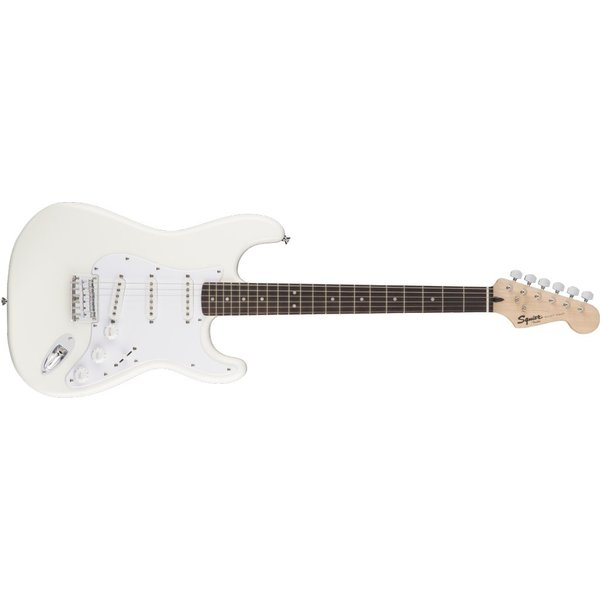 Squier Fender Bullet Stratocaster Hard Tail, Laurel Fingerboard, Arctic White