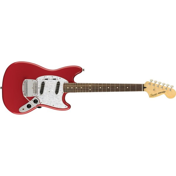 Squier Fender Vintage Modified Mustang, Laurel Fingerboard, Fiesta Red