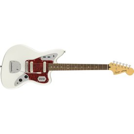 Squier Fender Vintage Modified Jaguar, Laurel Fingerboard, Olympic White