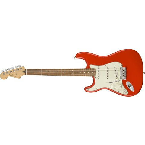 Fender Player Stratocaster Left-Handed, Pau Ferro Fingerboard, Sonic Red