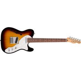 Fender Fender Deluxe Telecaster Thinline, Rosewood Fingerboard, 3-Color Sunburst