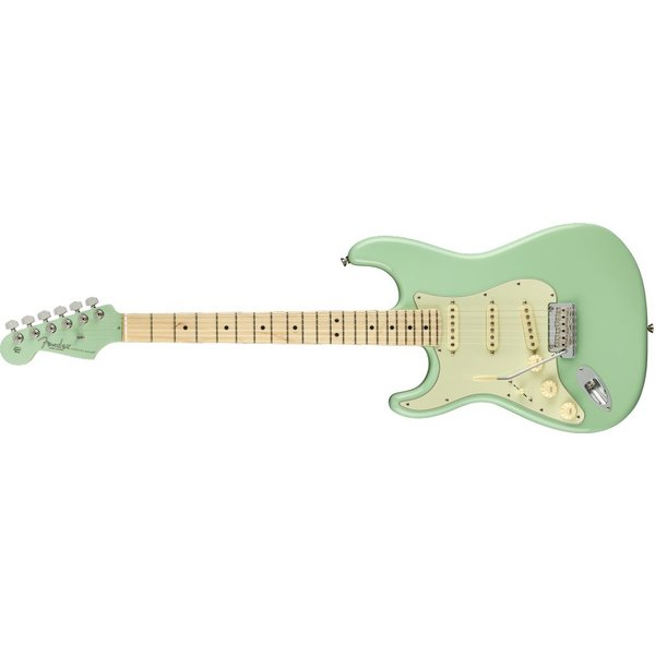 Fender Fender Limited Edition American Pro Stratocaster Left-Hand, Maple Fingerboard, Surf Green with MHC