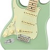 Fender Limited Edition American Pro Stratocaster Left-Hand, Maple Fingerboard, Surf Green with MHC