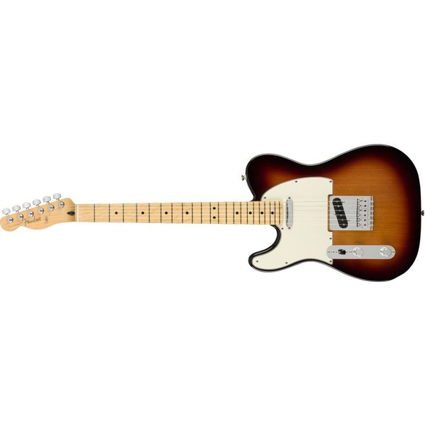 Fender Fender Player Telecaster Left-Handed, Maple Fingerboard, 3-Color Sunburst
