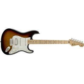 Fender Fender Standard Stratocaster HSS, Maple Fingerboard, Brown Sunburst