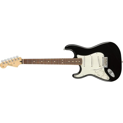 Fender Player Stratocaster Left-Handed, Pau Ferro Fingerboard, Black