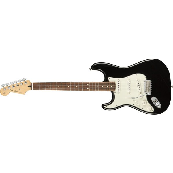Fender Fender Player Stratocaster Left-Handed, Pau Ferro Fingerboard, Black