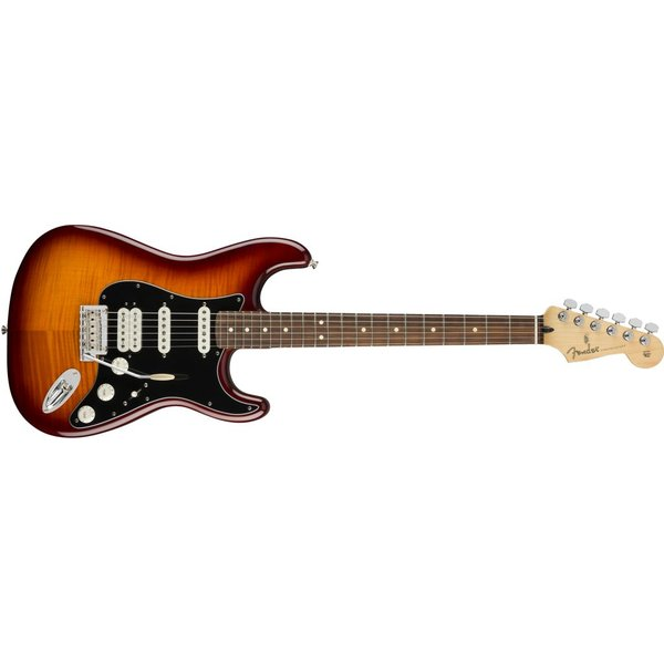 Fender Fender Player Stratocaster HSS Plus Top, Pau Ferro Fingerboard, Tobacco Sunburst