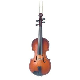 "Music Treasures Co. Violin Ornament 5"" High"