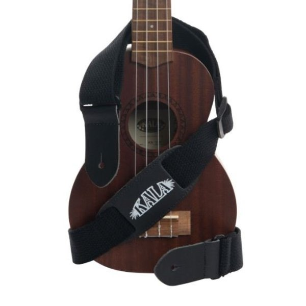 Kala Kala Cloth Ukulele Strap Black