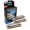 Hohner 3P532BX Blues Harp 3 Pack Keys of C, G, A