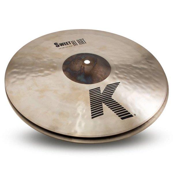 """Zildjian Cymbals 14"""" K Zildjian Sweet HiHat Pair"""
