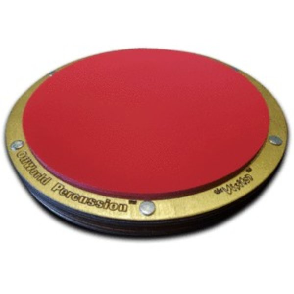 "Offworld Percussion Offworld Percussion Aurora Series Visitor Modular Practice Pad w/8"" Red Dwarf Top"