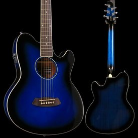 Ibanez Ibanez TCY10ETBS Talman Acoustic Electric Guitar Transparent Blue Sunburst S/N GS190510667