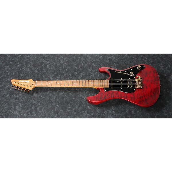Ibanez Ibanez SLM10TRM Scott LePage Signature 6str Electric Guitar w/Bag - Transparent Red Matte