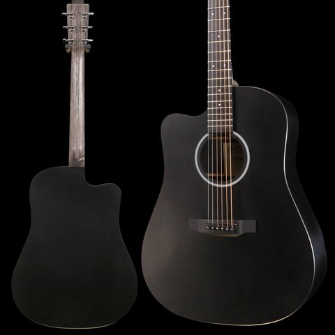 Martin DCXAE Lefty Black X Series