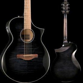 Ibanez Ibanez AEWC 6Str Acoustic/Electric Guitar - Transparent Black Sunburst High Gloss S/N PW190401681