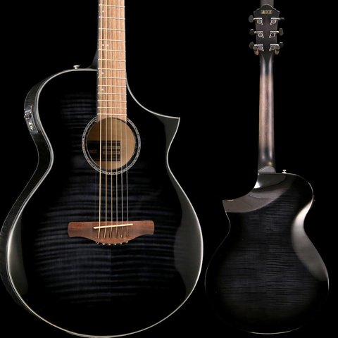 Ibanez AEWC 6Str Acoustic/Electric Guitar - Transparent Black Sunburst High Gloss S/N PW190401681