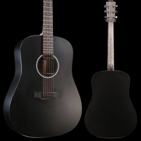 Martin Martin DXAEBLACK X Series Acoustic / Electric Black S/N 2244316