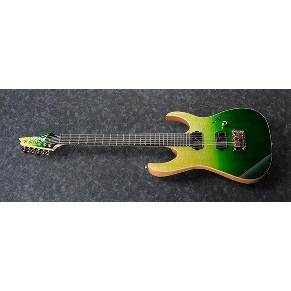 Ibanez Ibanez KIKO200GMT Kiko Loureiro Signature 6str Electric Guitar w/Case - Green Mist Burst