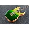 Ibanez KIKO200GMT Kiko Loureiro Signature 6str Electric Guitar w/Case - Green Mist Burst