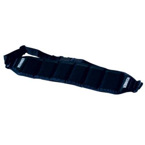 Hohner HB6 Harmonica Belt, Black (Holds 6)