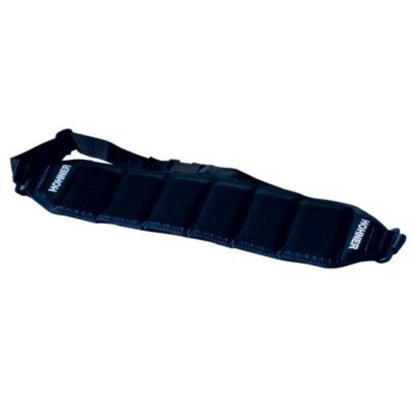 Hohner Hohner HB6 Harmonica Belt, Black (Holds 6)