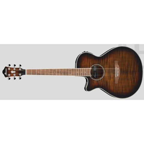 Ibanez AEG19LIITIB AE Series - Tiger Burst High Gloss