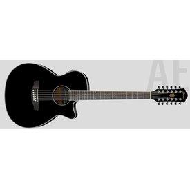 Ibanez Ibanez AEG1812IIBK AE Series - Black High Gloss