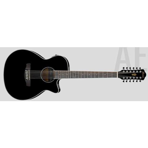 Ibanez AEG1812IIBK AE Series - Black High Gloss