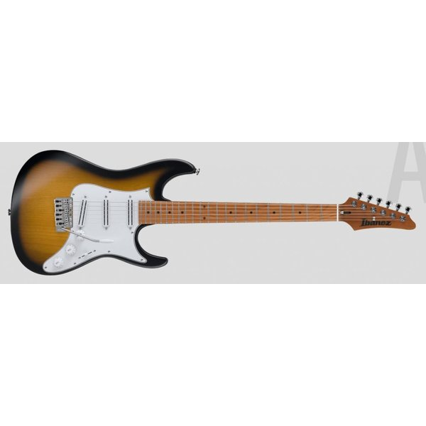 Ibanez Ibanez ATZ100SBT Andy Timmons Signature 6str Electric Guitar w/Case - Sunburst Flat