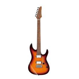 Ibanez Ibanez AZ2402FFRBB AZ Prestige 6str Electric Guitar w/Case  - Regal Brown Burst